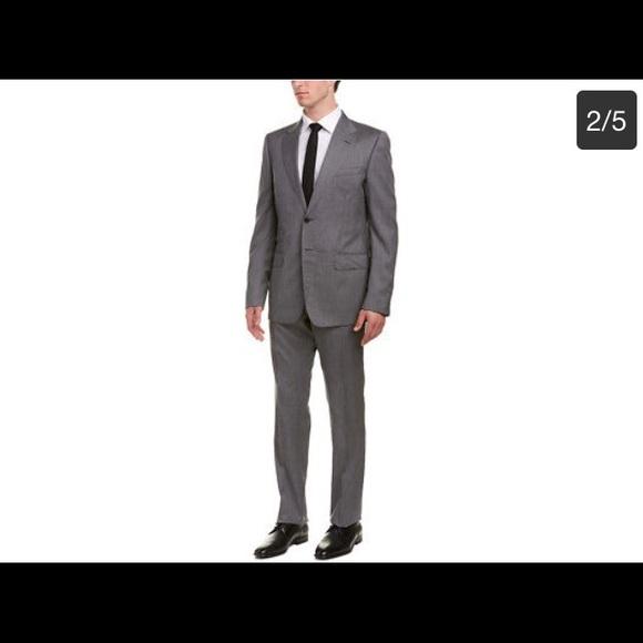 31232d4b3 Gucci Suits & Blazers | Mens Monaco Wool Suit With Flat Front Pant ...